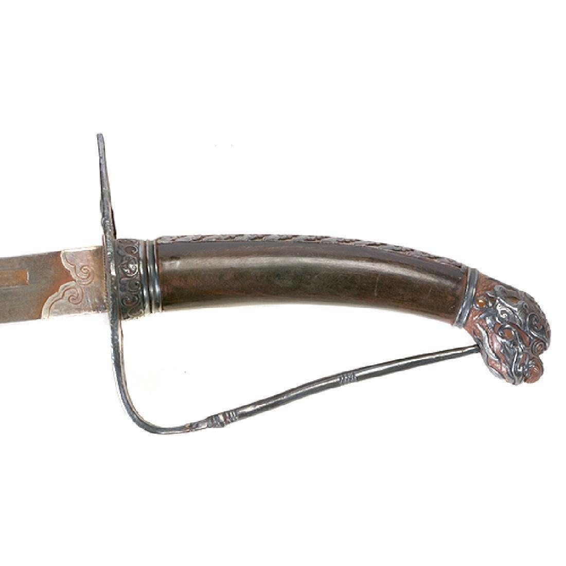 A Tibetan Ceremonial Sword, 19th Century - 2