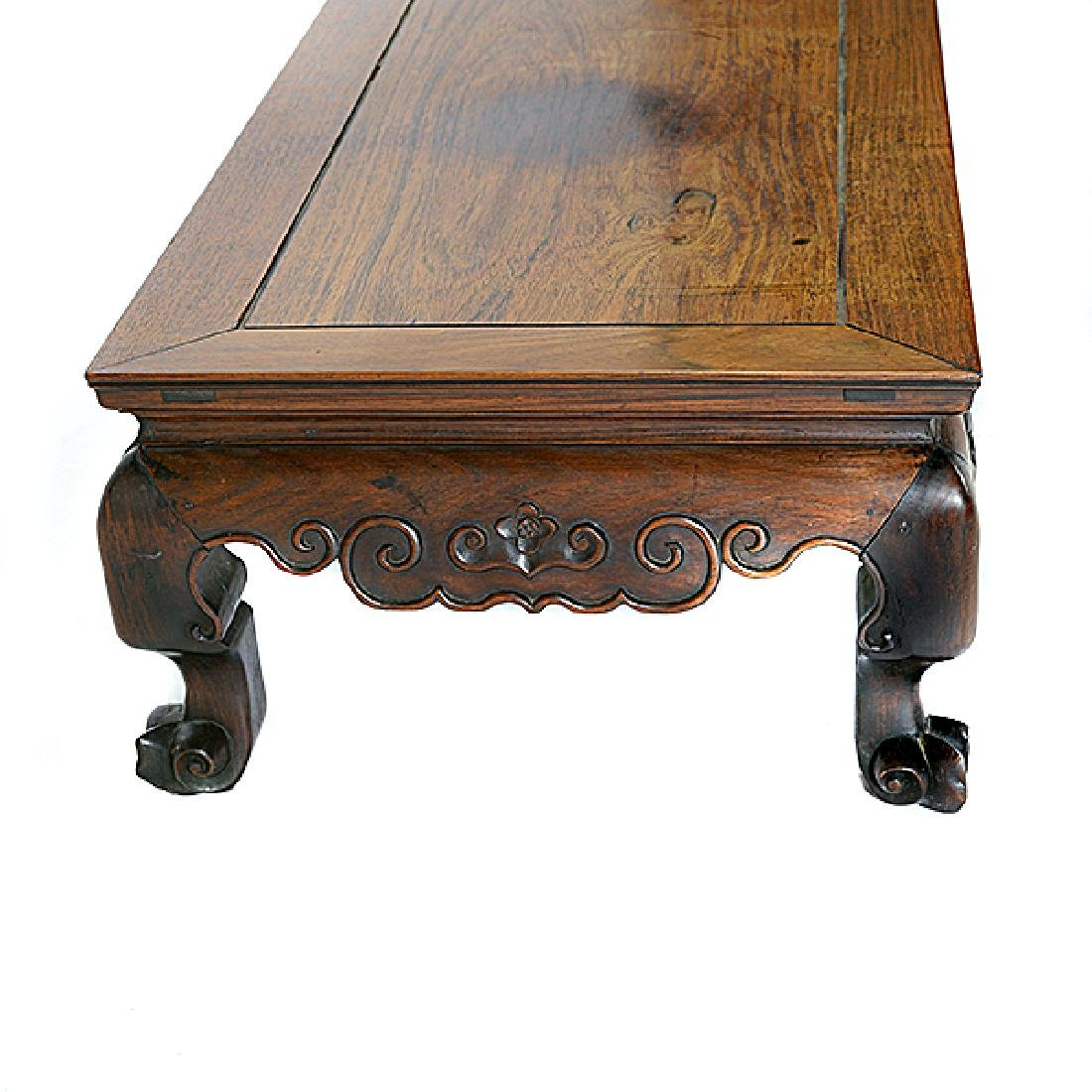 A Rosewood Kang Table, Late 19th/Early 20th Century - 2