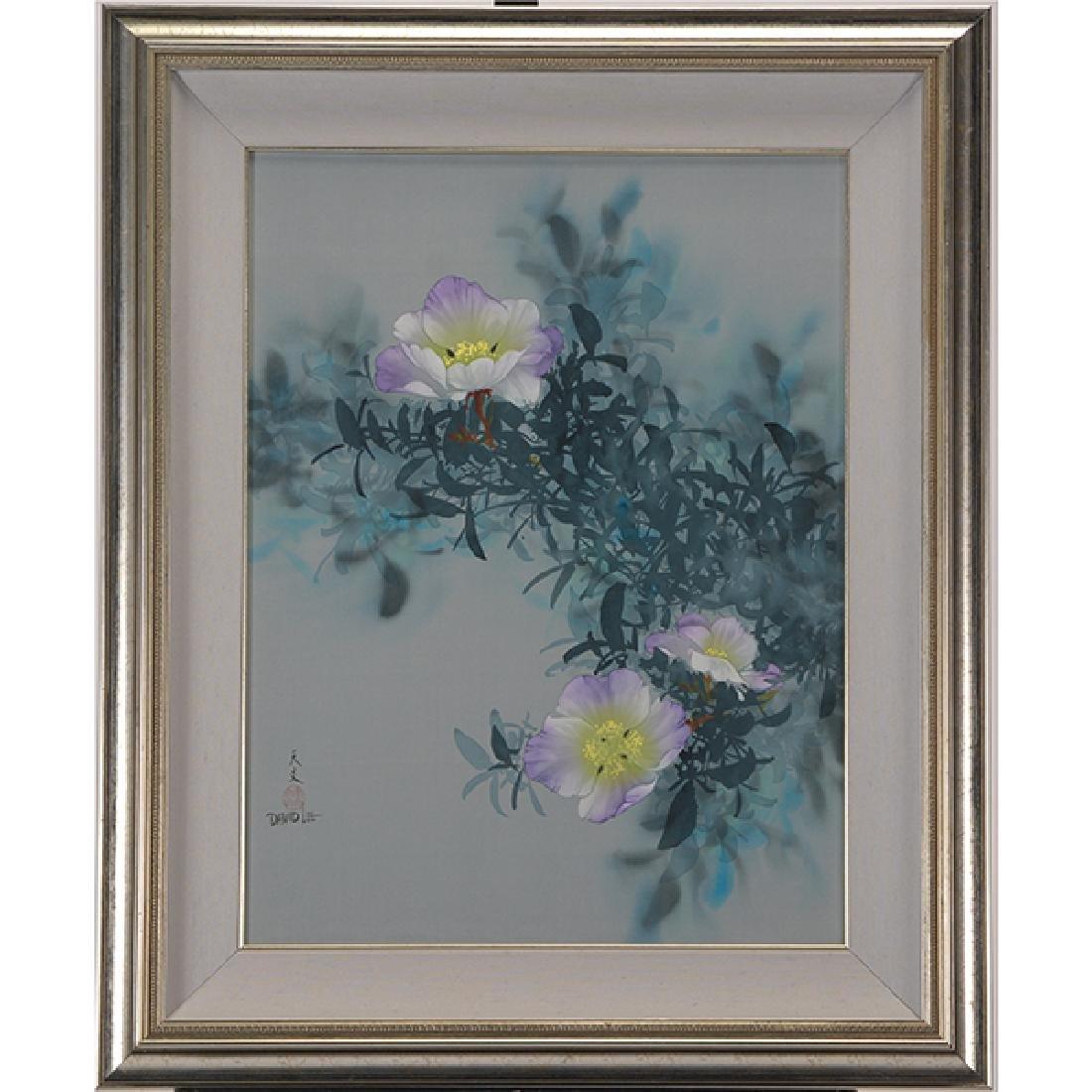 David Lee (b. 1944): Flowers
