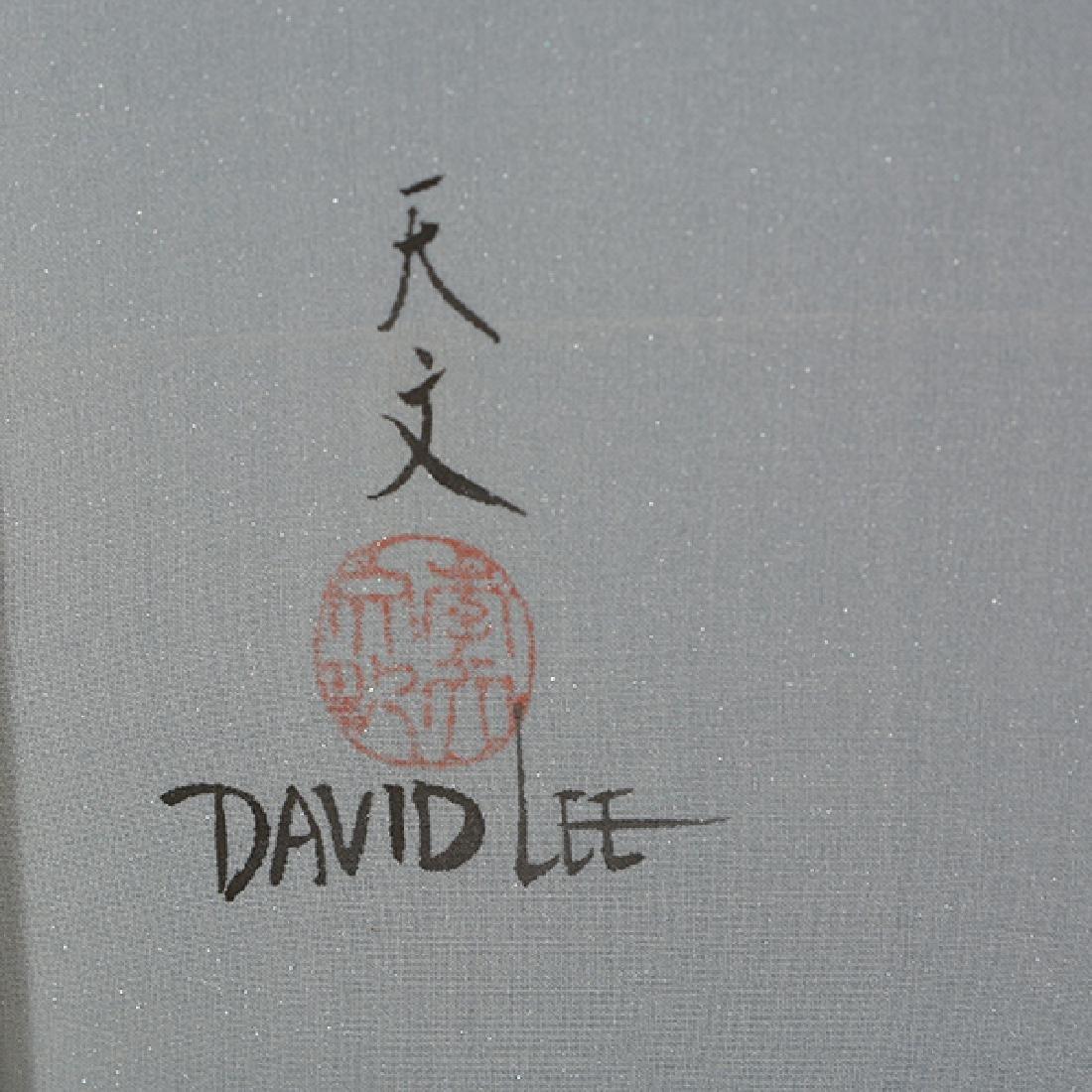 David Lee (b. 1944): Flowers - 2