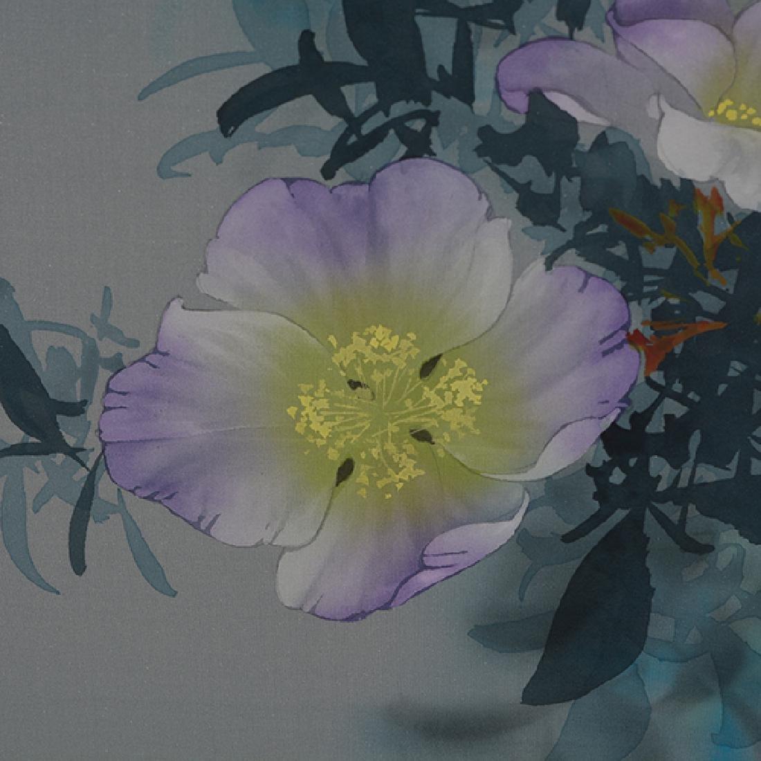 David Lee (b. 1944): Flowers - 5