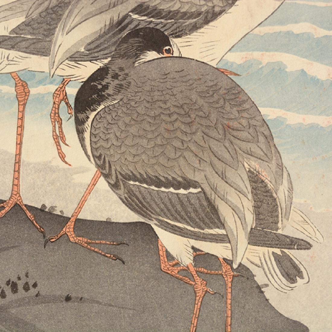 Koson Ohara (1877-1945): Two Woodblock Prints - 5