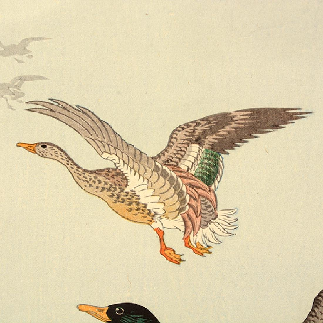 Koson Ohara (1877-1945): Two Woodblock Prints - 7
