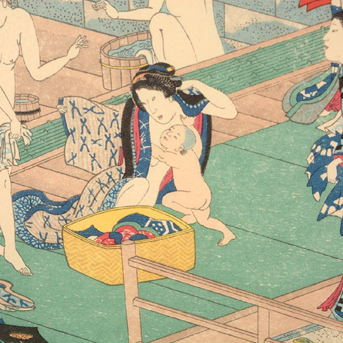 Utagawa Yoshiiku and Toyokuni: Two Woodblocks - 6