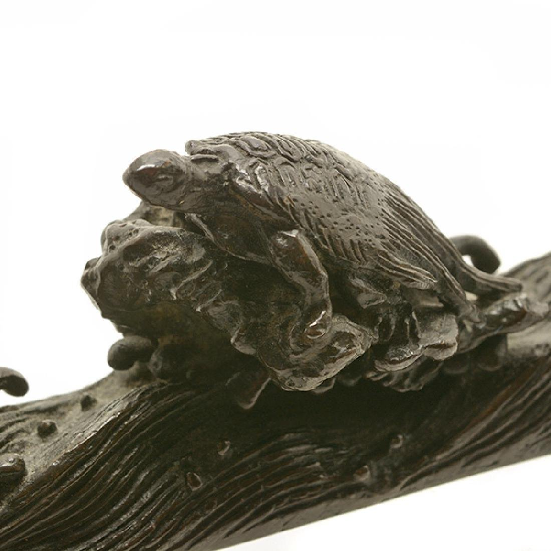 Two Bronze Paperweights, 19th Century - 6