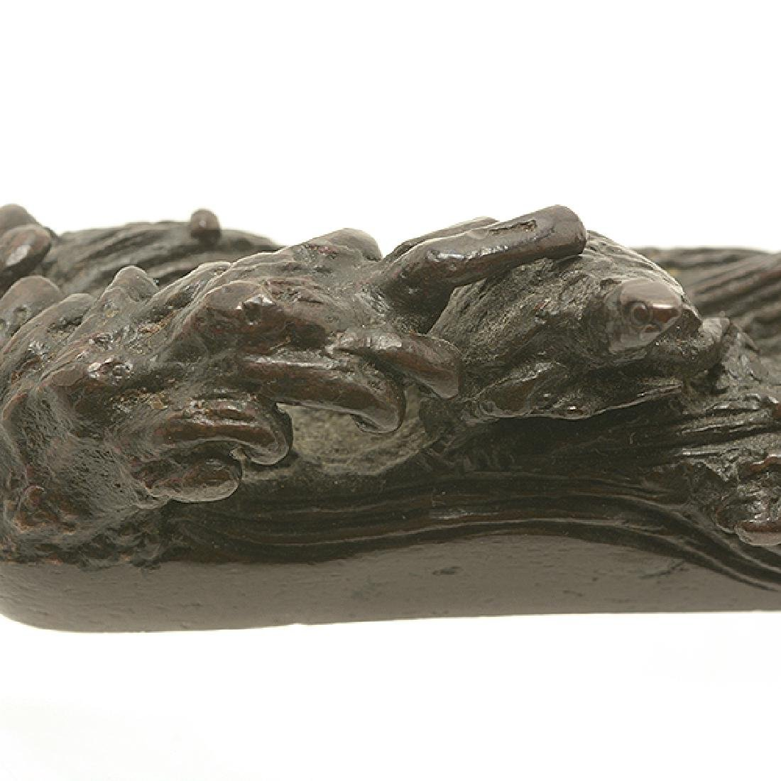 Two Bronze Paperweights, 19th Century - 8