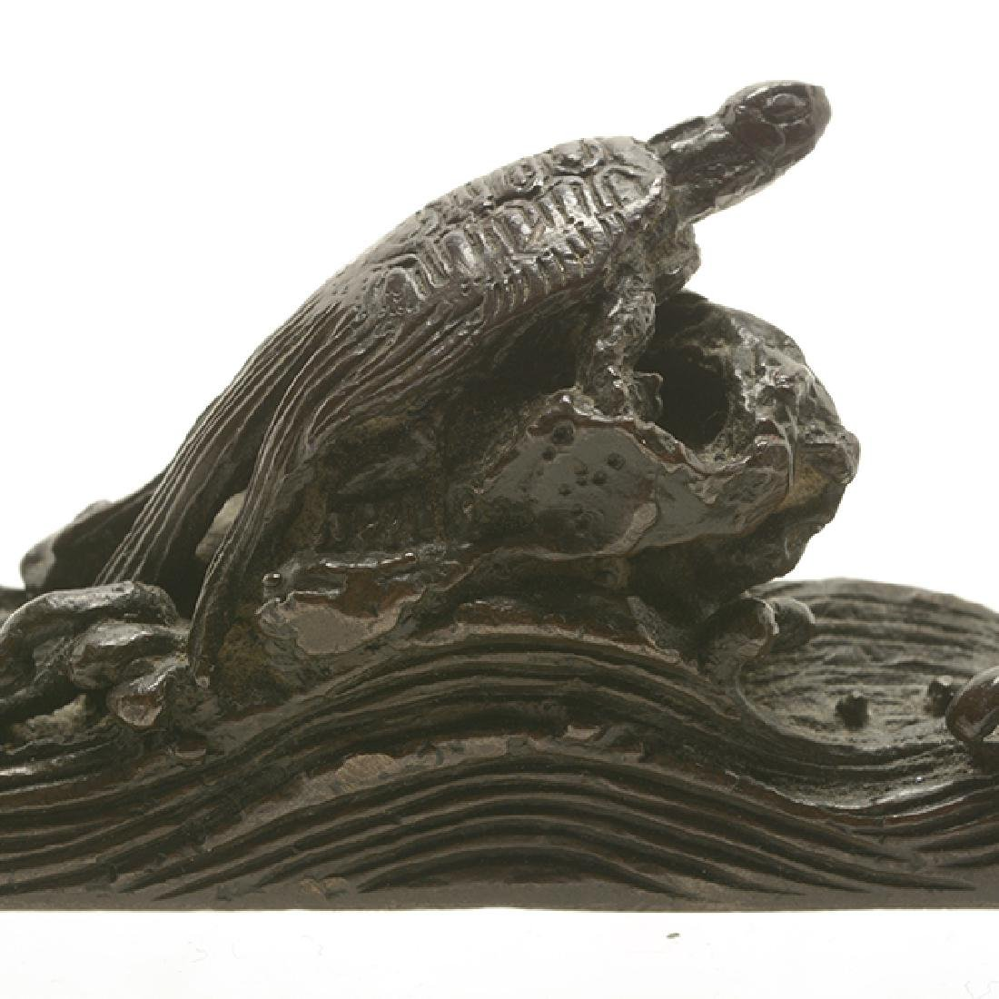 Two Bronze Paperweights, 19th Century - 9