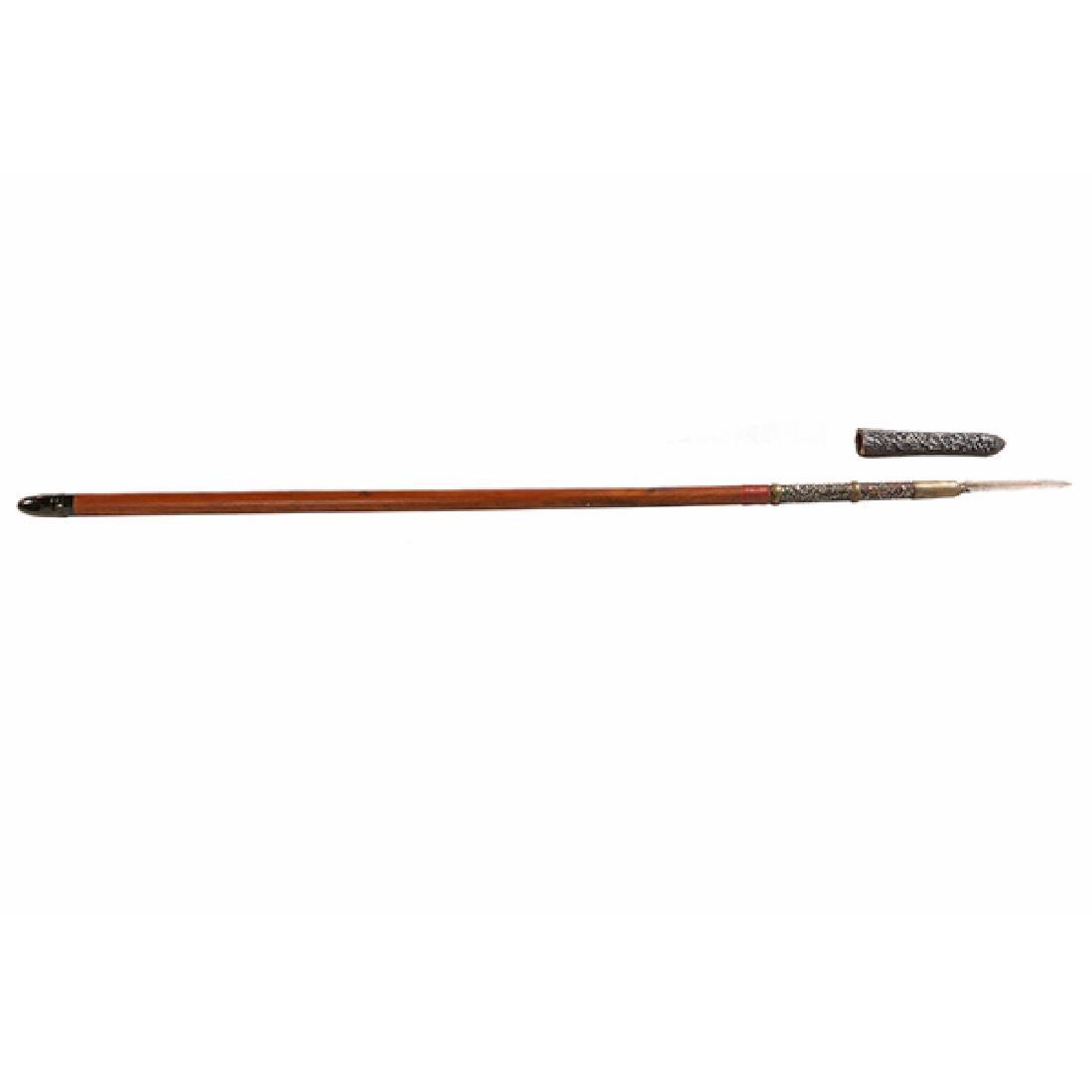 A Su Yari Spear, Edo Period