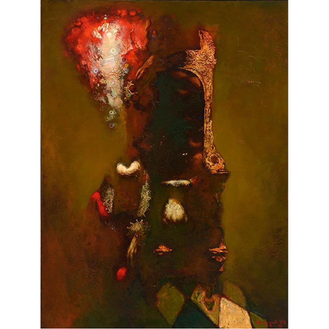 "Armen Gasparyan ""Self-portrait"" oil on canvas"