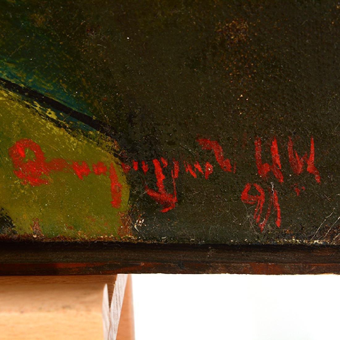 "Armen Gasparyan ""Self-portrait"" oil on canvas - 2"