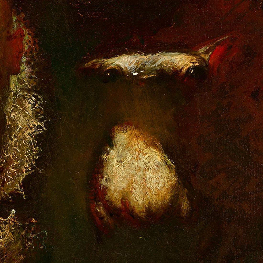 "Armen Gasparyan ""Self-portrait"" oil on canvas - 3"