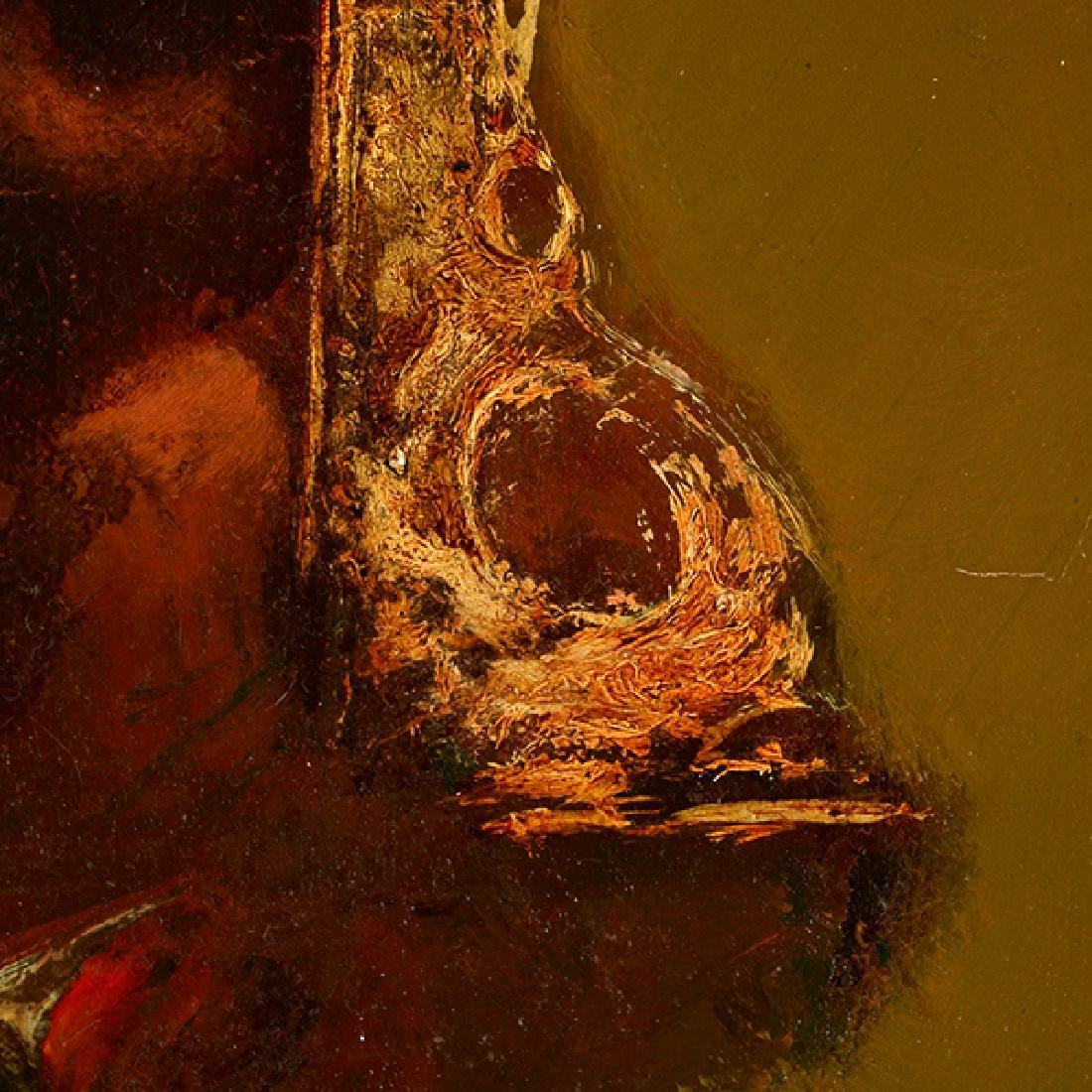 "Armen Gasparyan ""Self-portrait"" oil on canvas - 4"