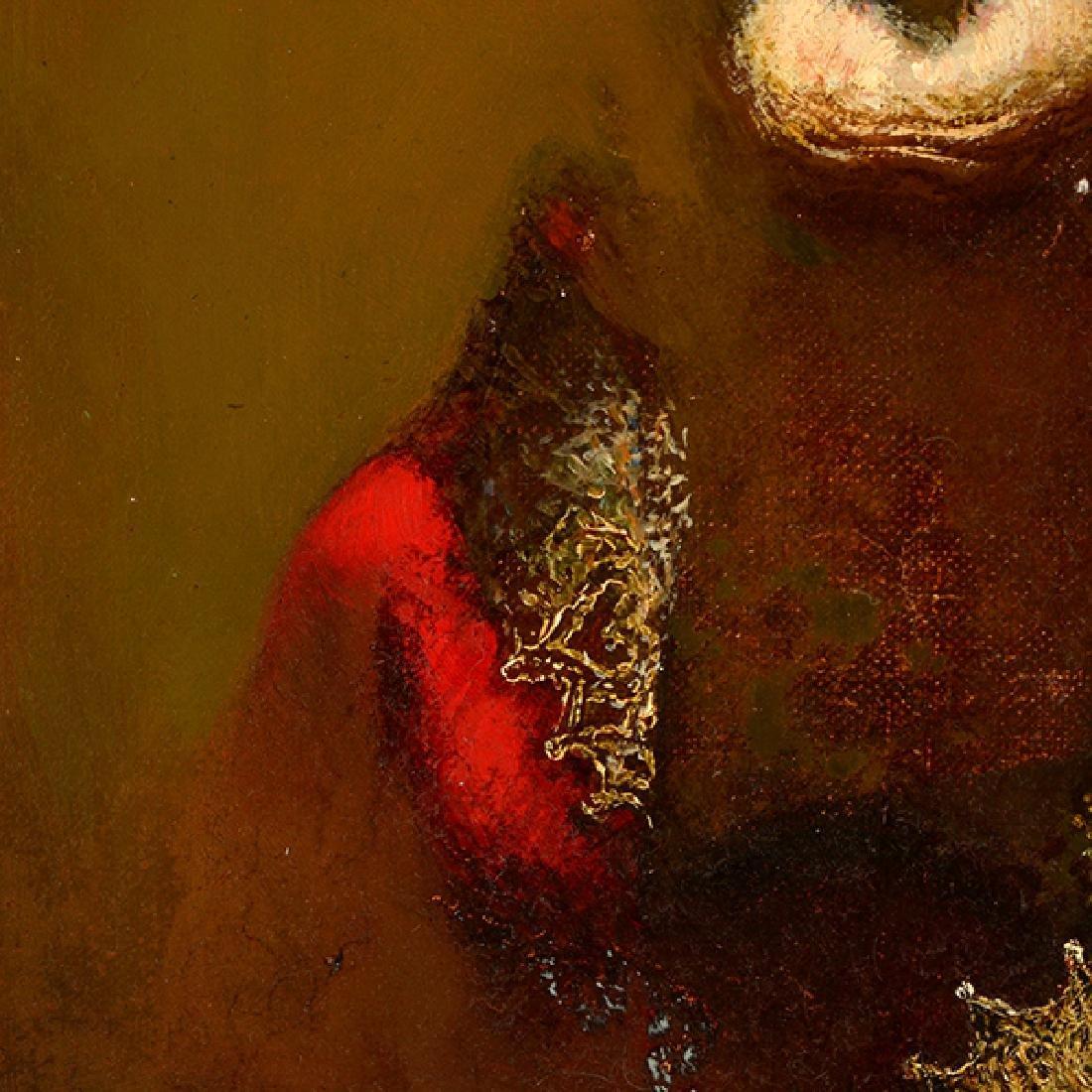 "Armen Gasparyan ""Self-portrait"" oil on canvas - 5"
