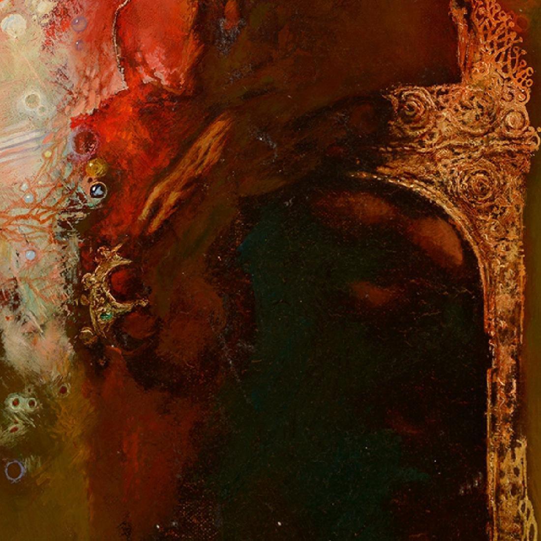 "Armen Gasparyan ""Self-portrait"" oil on canvas - 6"