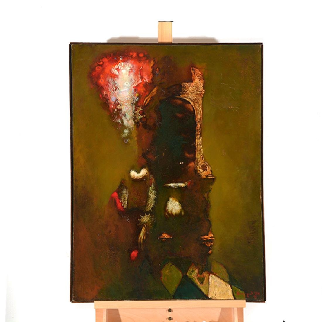 "Armen Gasparyan ""Self-portrait"" oil on canvas - 8"