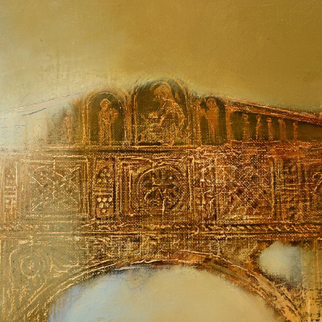 "Armen Gasparyan ""Golden Archway"" oil on canvas - 6"