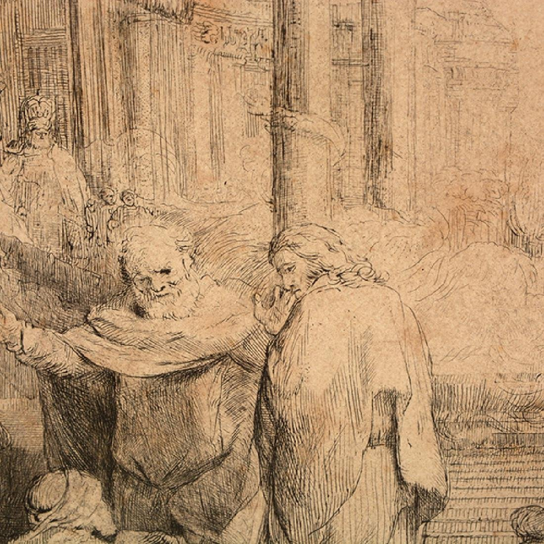 "Rembrandt ""John Healing the Cripple at the Gate of a - 3"