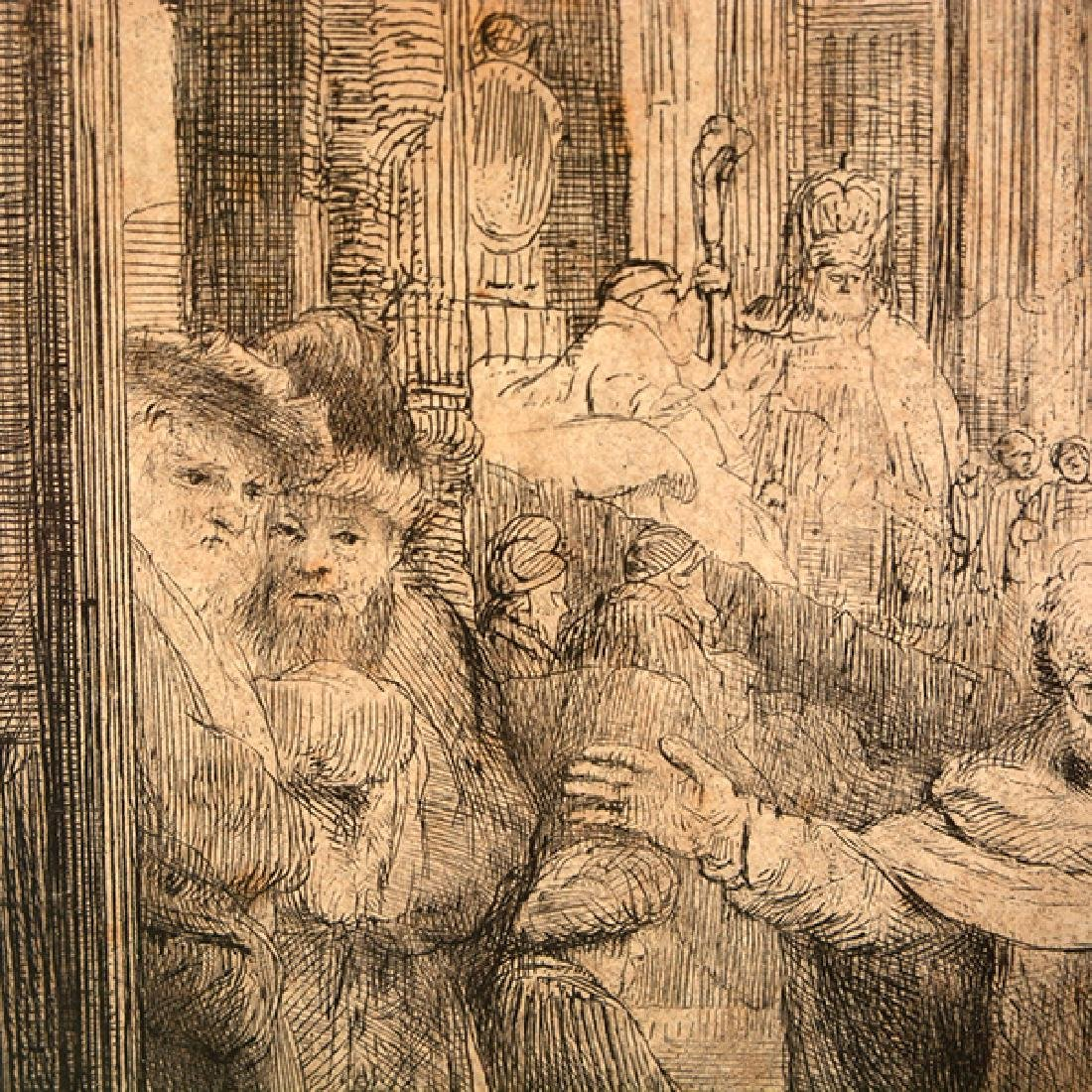 "Rembrandt ""John Healing the Cripple at the Gate of a - 5"