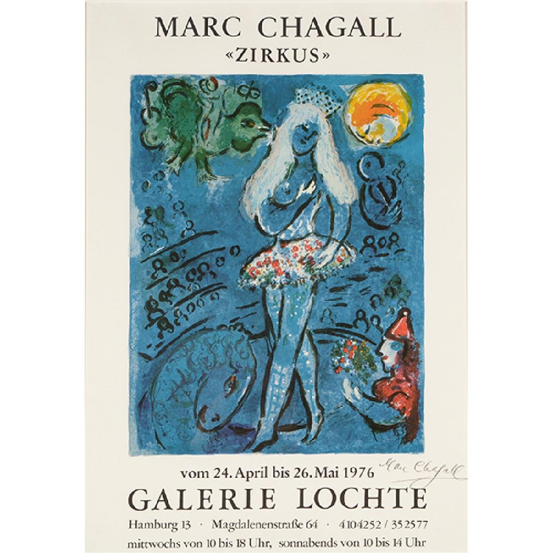 "Marc Chagall ""Zirkus"" (Galerie Lochte, Hamburg Germany)"