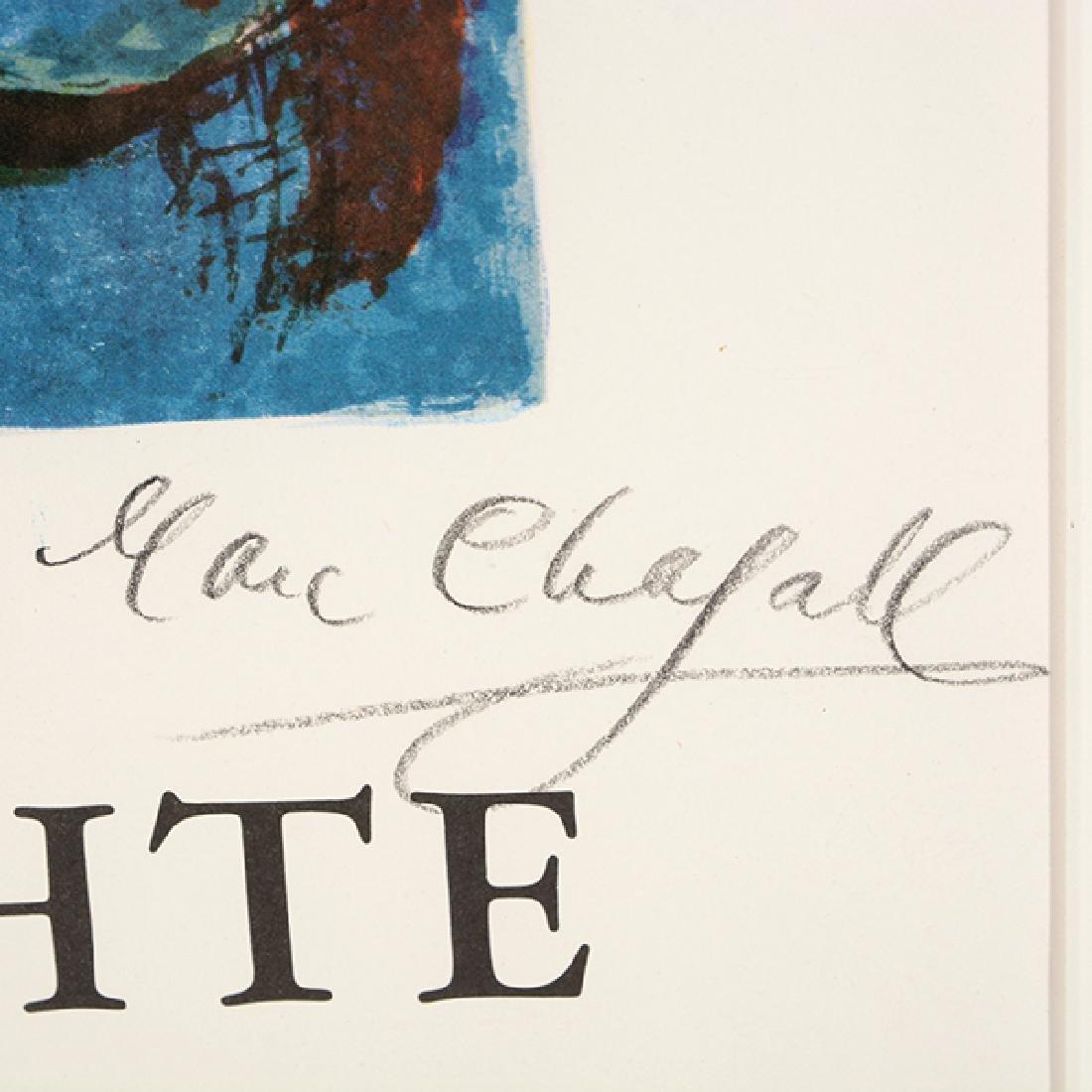 "Marc Chagall ""Zirkus"" (Galerie Lochte, Hamburg Germany) - 2"