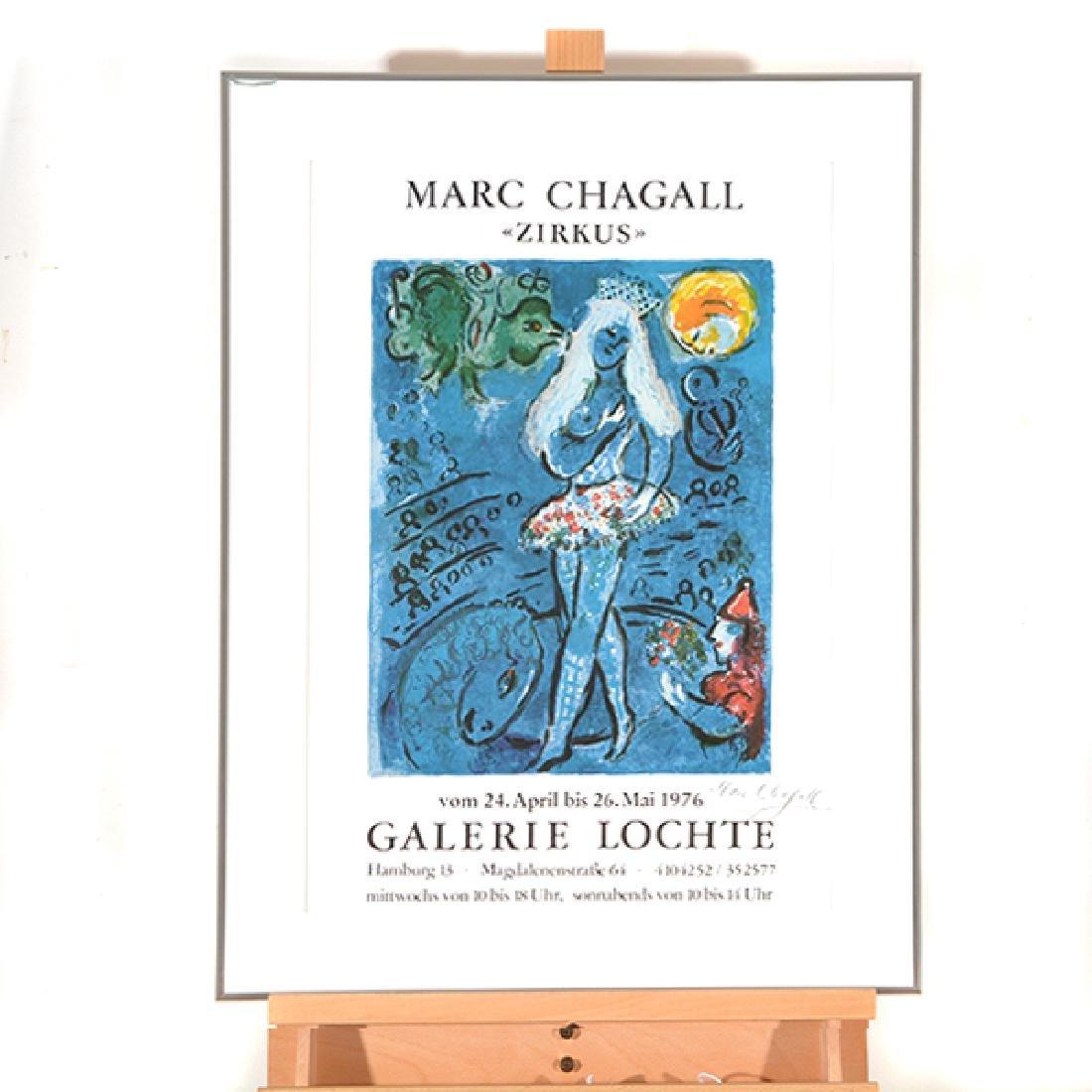 "Marc Chagall ""Zirkus"" (Galerie Lochte, Hamburg Germany) - 7"