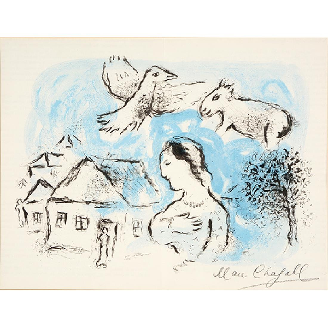 "Marc Chagall ""The Village (from DerriËre le Miroir)"