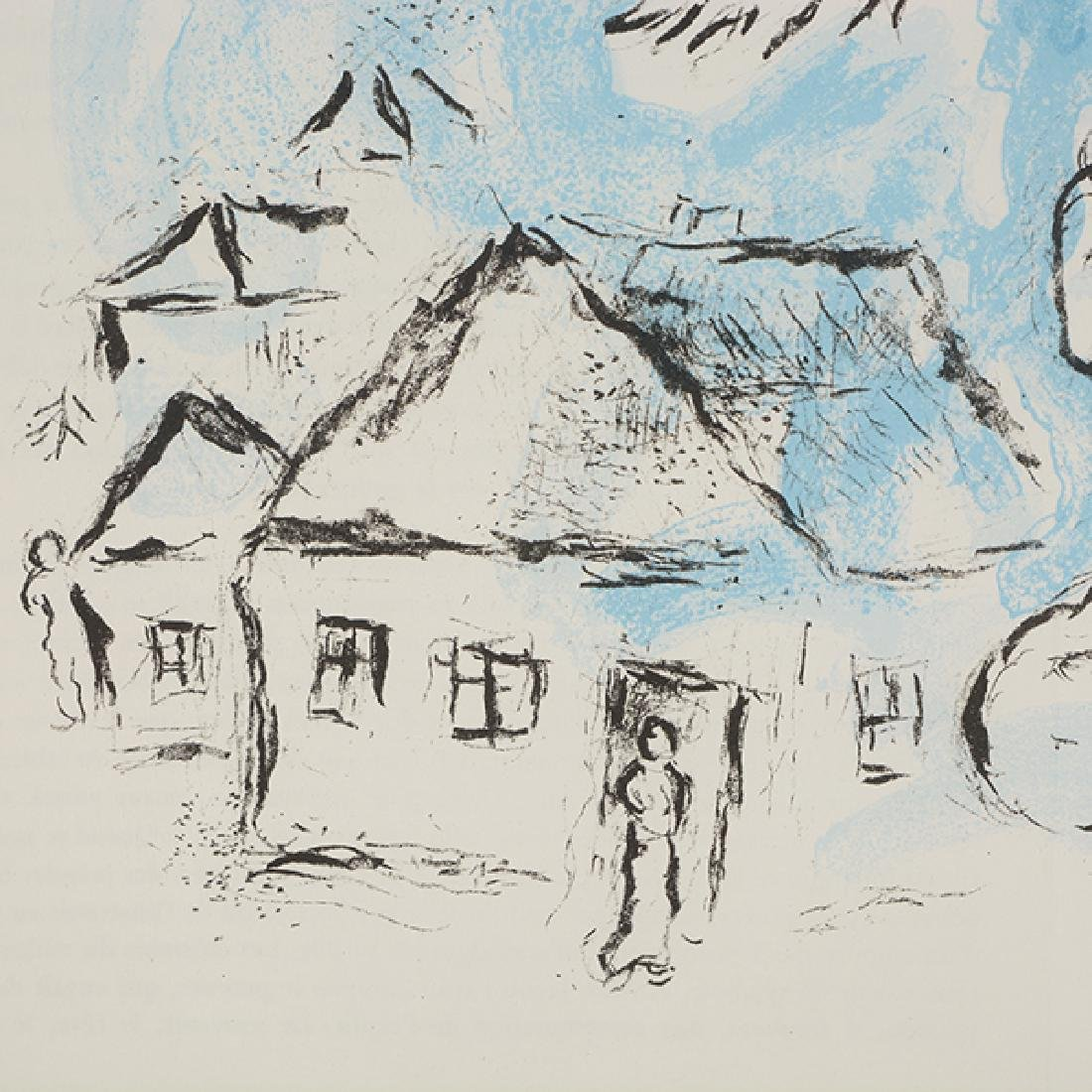 "Marc Chagall ""The Village (from DerriËre le Miroir) - 6"