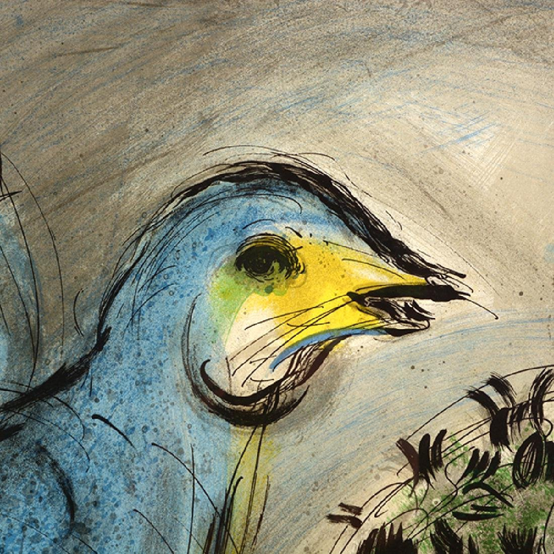 "Marc Chagall """"L'Oiseau Bleu- SeptiËme Biennale de - 2"