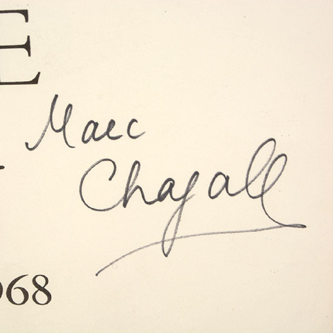 "Marc Chagall """"L'Oiseau Bleu- SeptiËme Biennale de - 5"