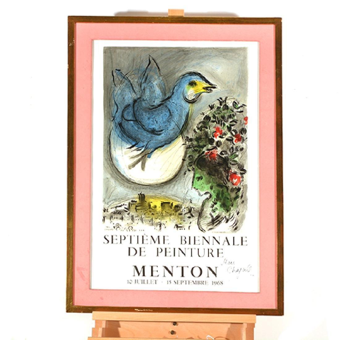 "Marc Chagall """"L'Oiseau Bleu- SeptiËme Biennale de - 8"