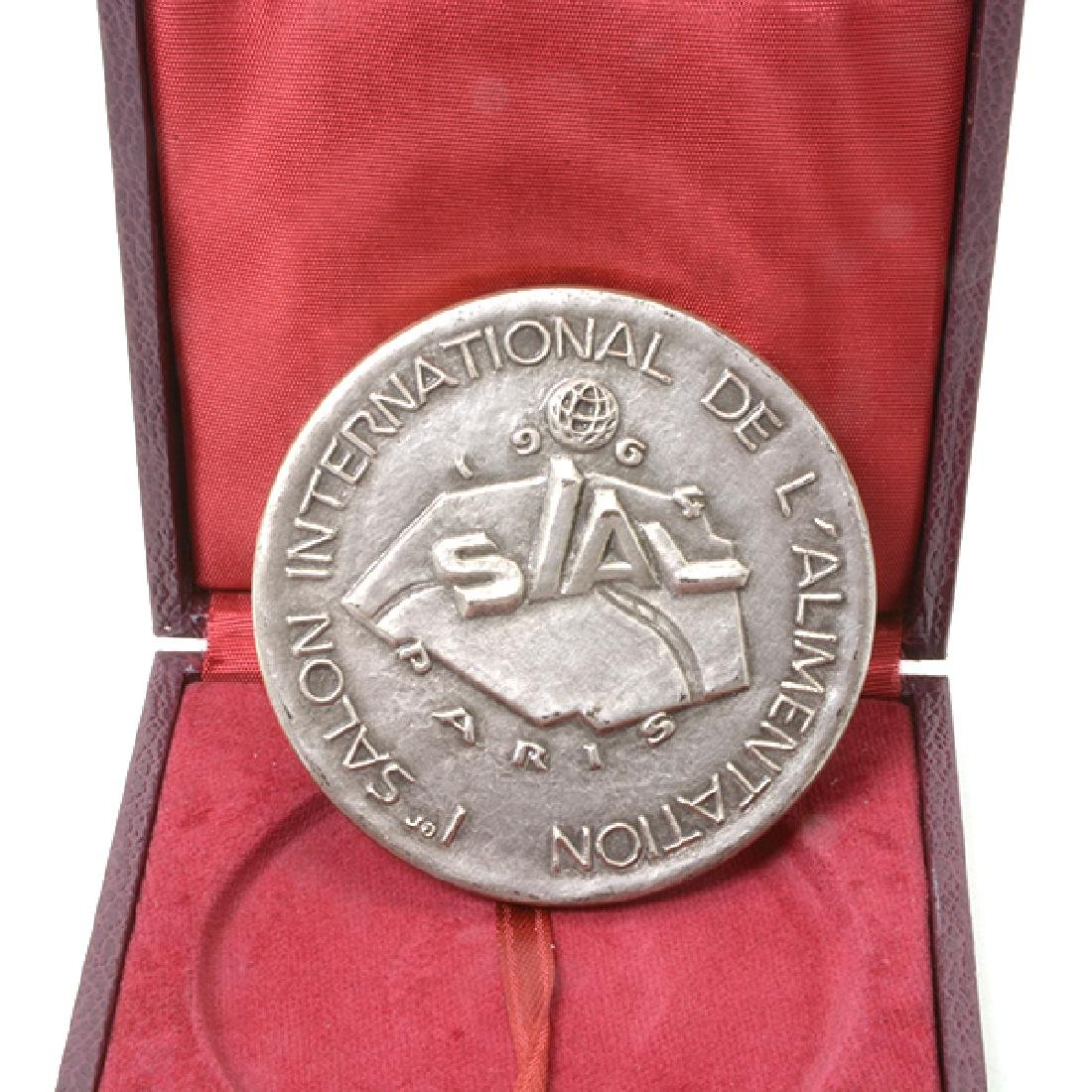 Nine French Commemorative Bronze Medallions - 3