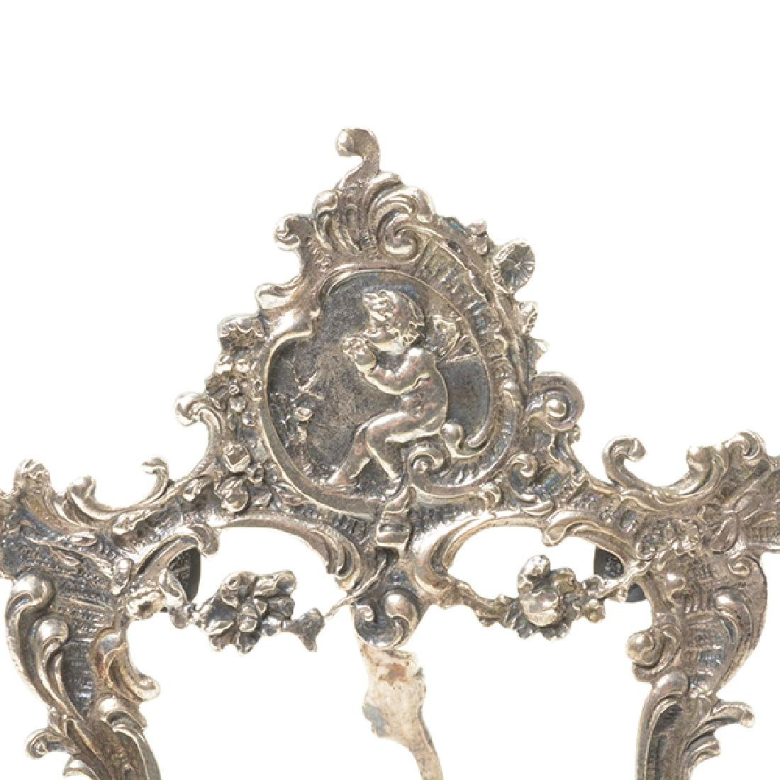 Eleven English Sterling Napkin Rings and Rococo Style - 2