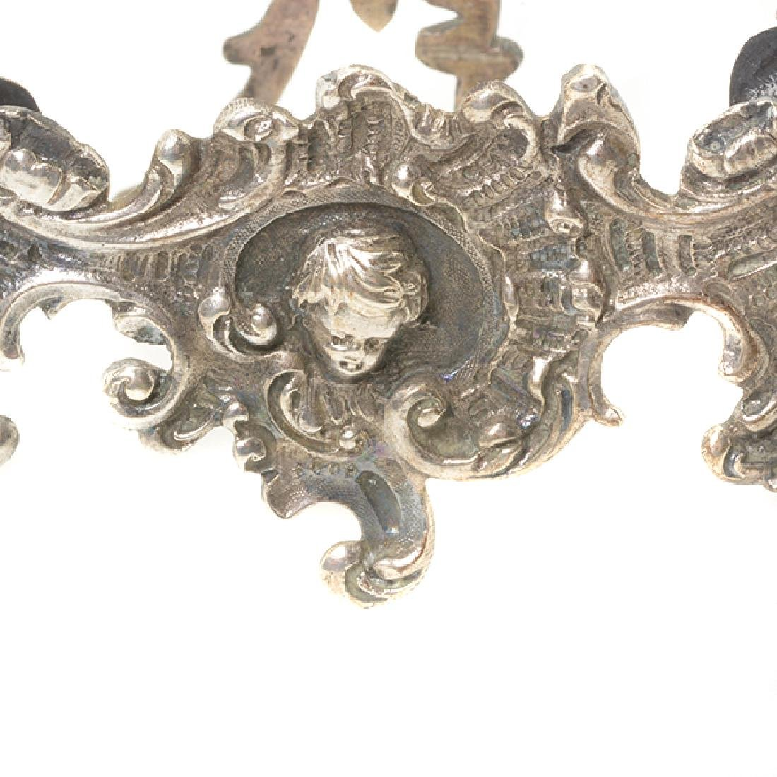 Eleven English Sterling Napkin Rings and Rococo Style - 3