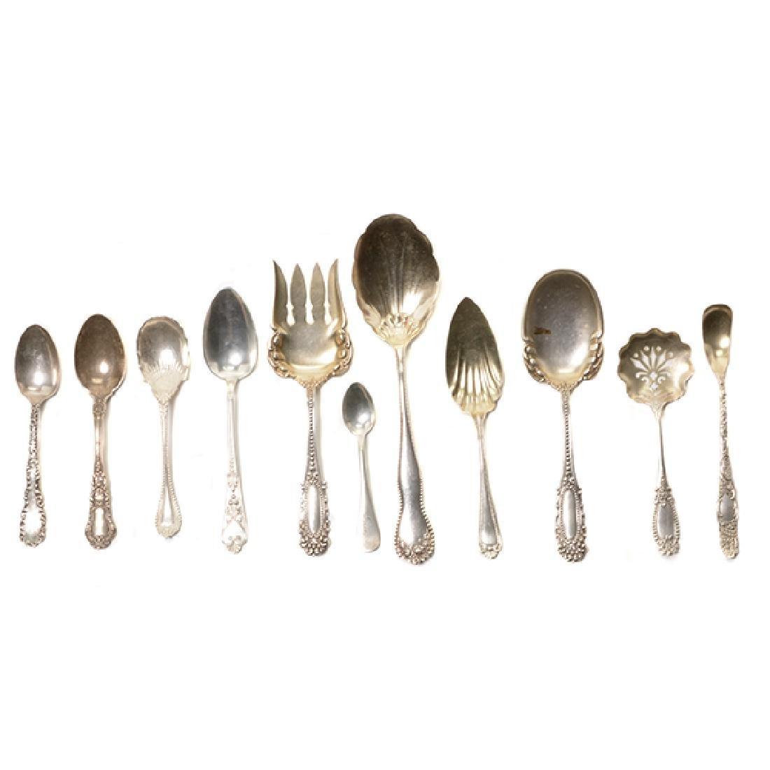 Collection of Assorted Sterling Flatware