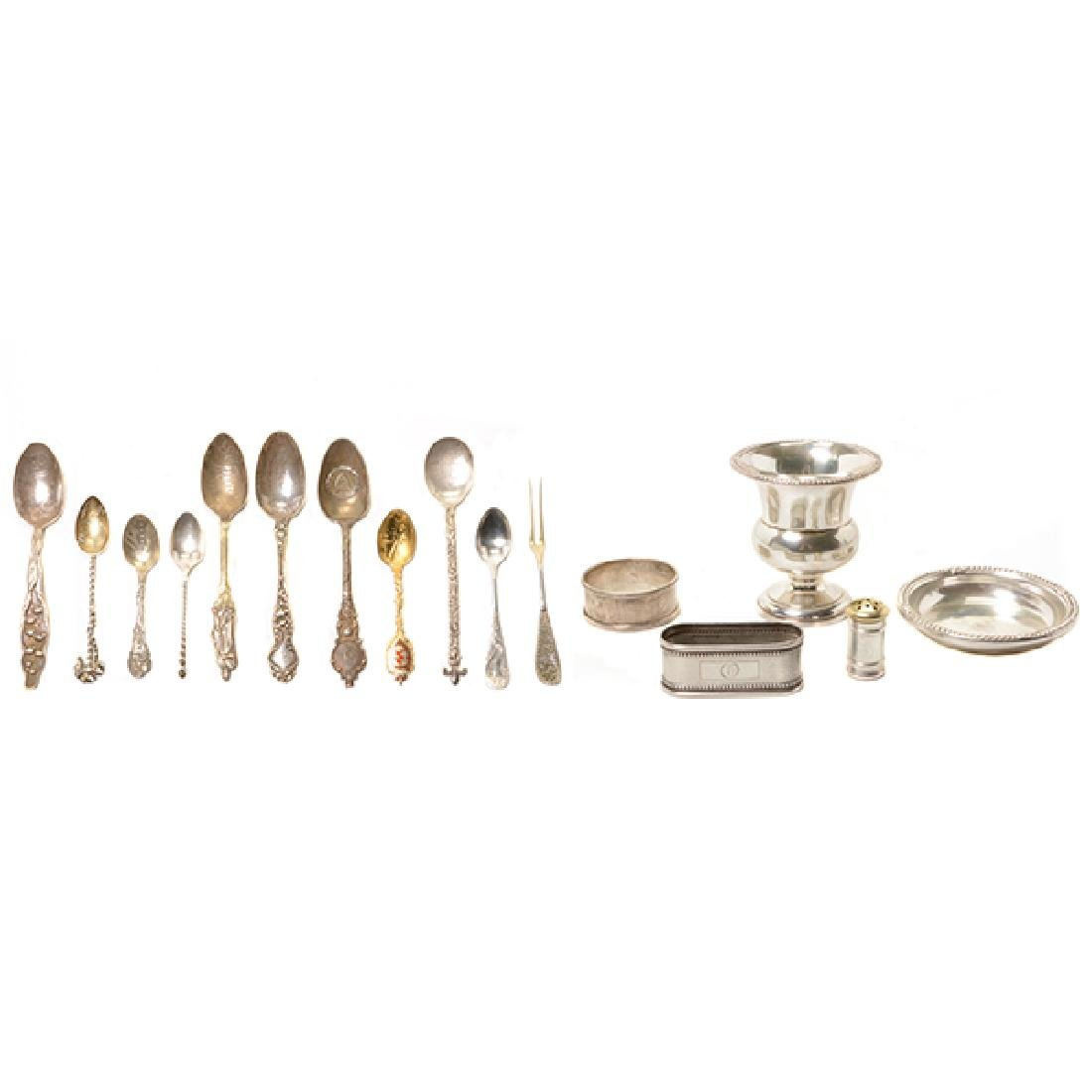 Collection of Sterling Flatware and Hollowware