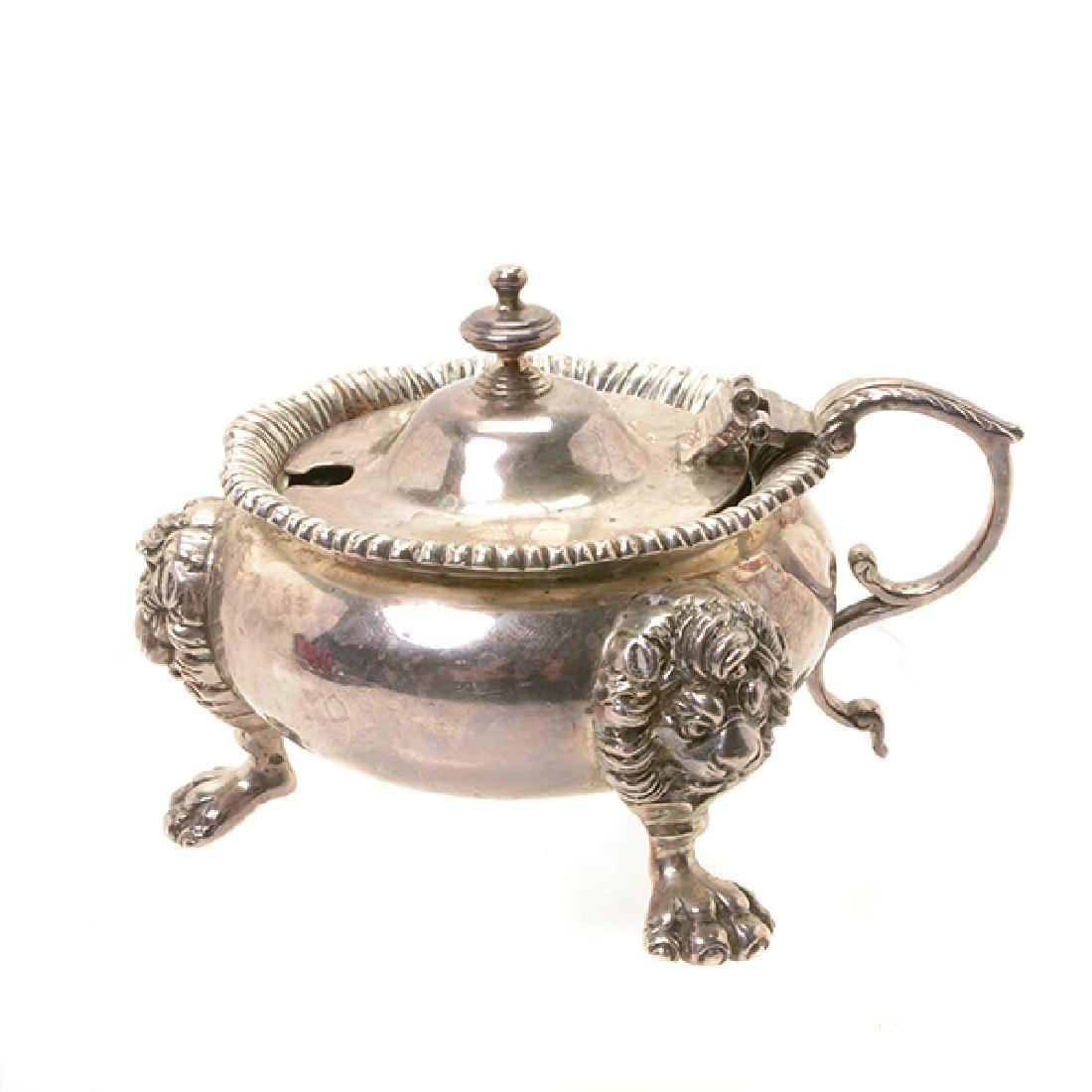 Collection of English Georgian Silver Table Articles - 7