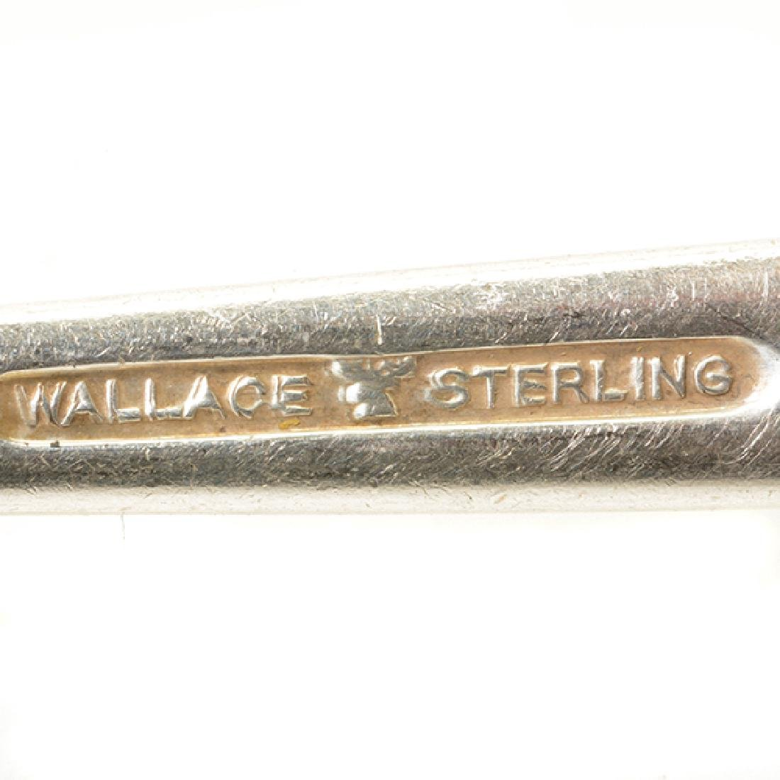 Collection of Wallace Sterling Flatware Five Demi Tasse - 10