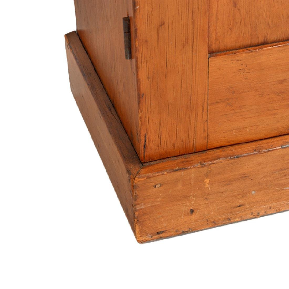 American Federal Maple, Pine, and Walnut Cabinet - 3