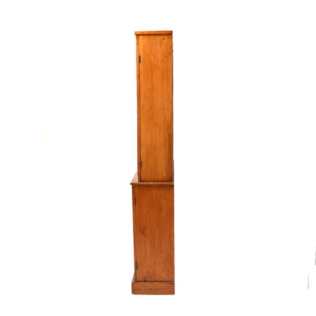 American Federal Maple, Pine, and Walnut Cabinet - 4