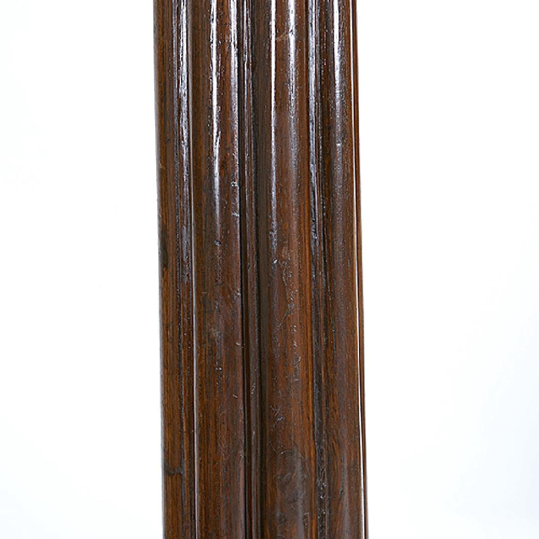 Pair of Anglo Indian Teak Fluted Columns - 3