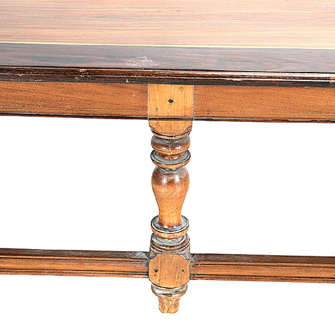 Anglo Indian Ebonized and Inlaid Teak Low Table - 3