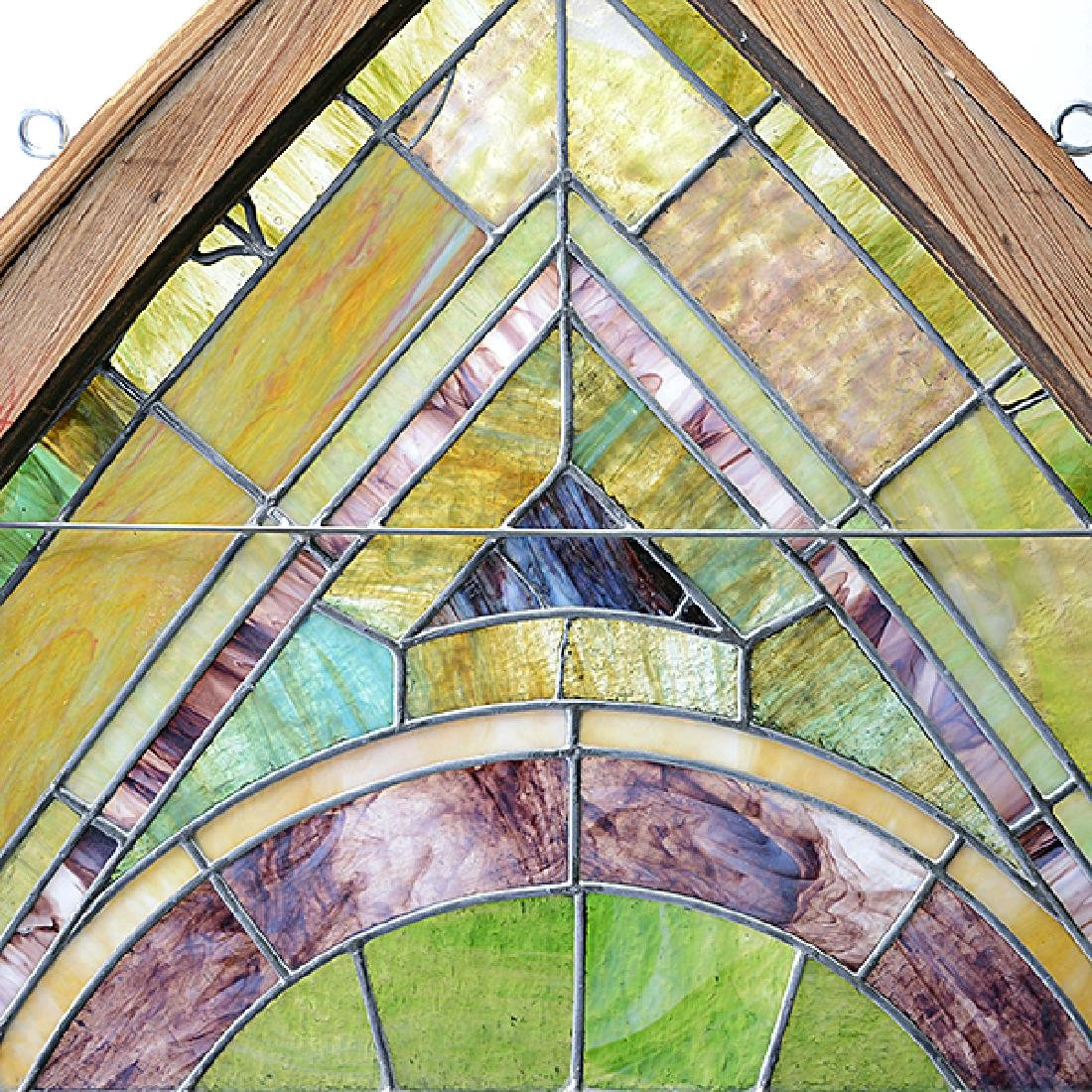 Art Nouveau Stained Glass Window - 3