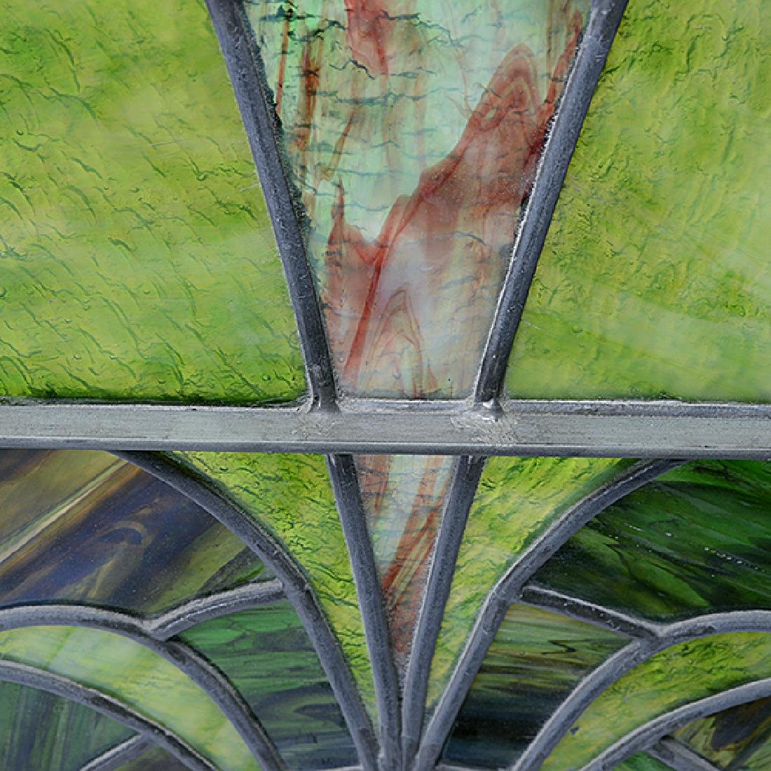 Art Nouveau Stained Glass Window - 4