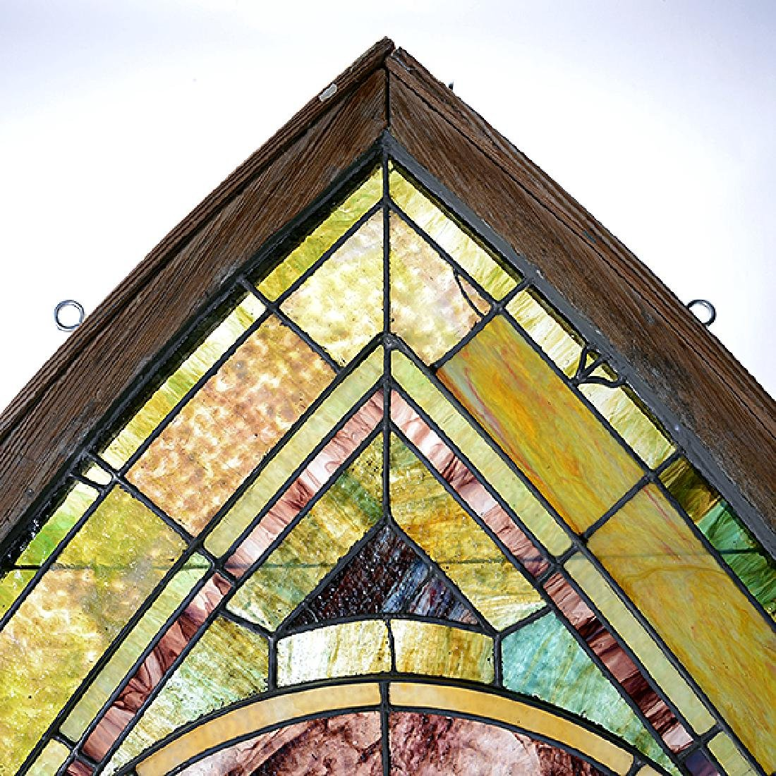Art Nouveau Stained Glass Window - 5