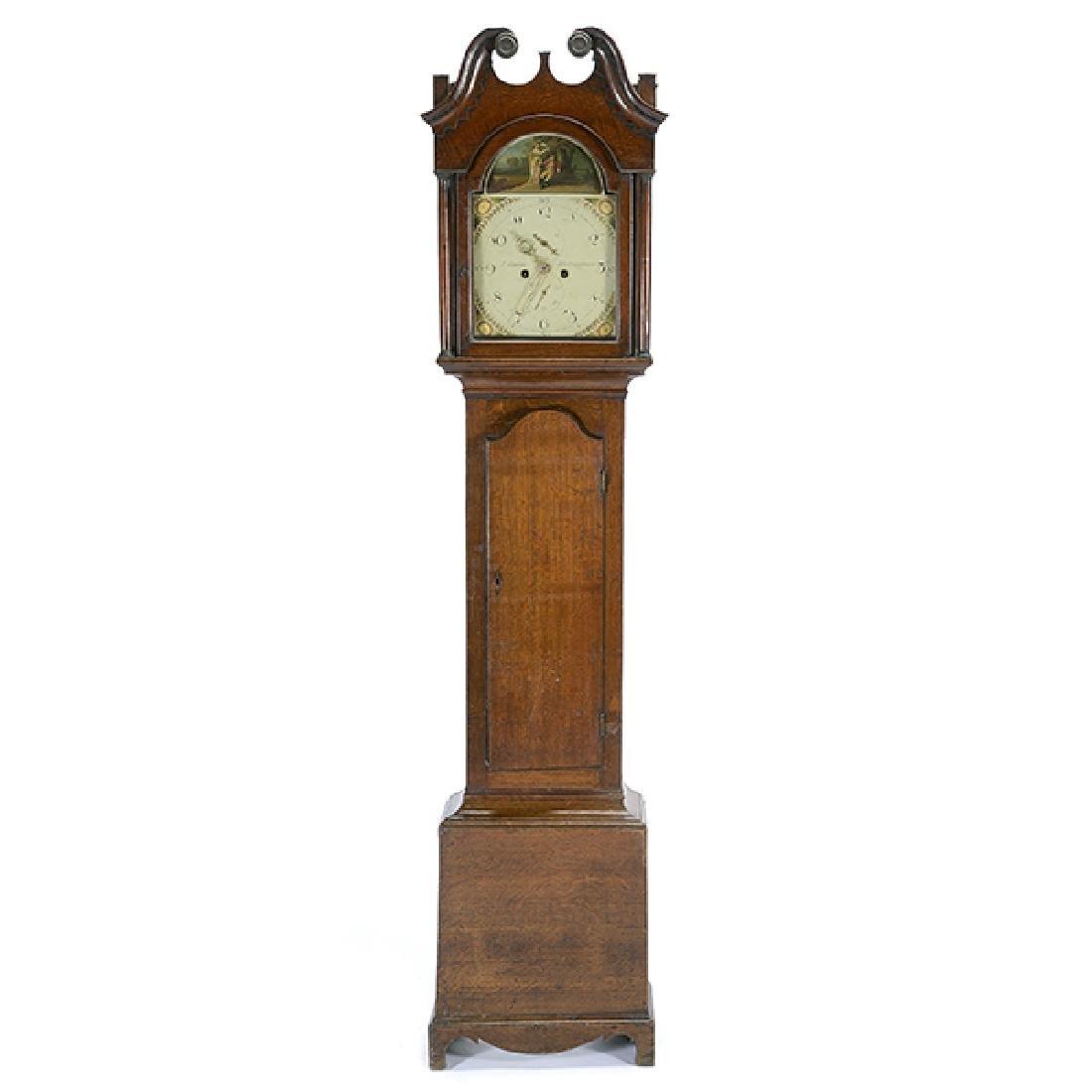 Victorian Long Case Clock