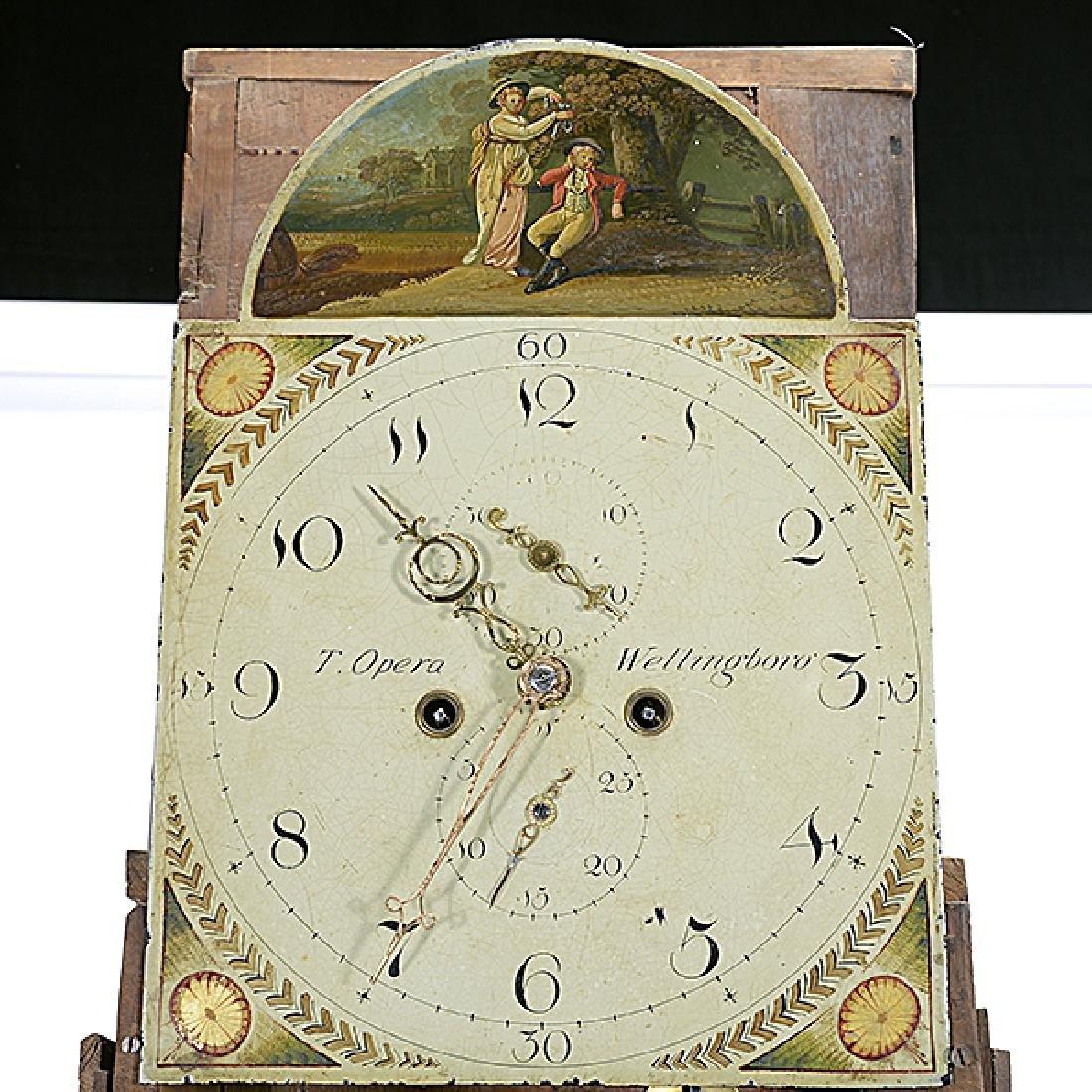 Victorian Long Case Clock - 4