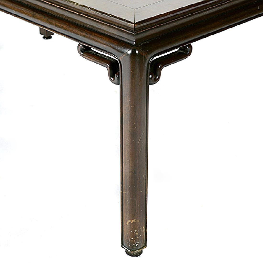 Baker Chinese Style Dining Table with Three Leaves - 2