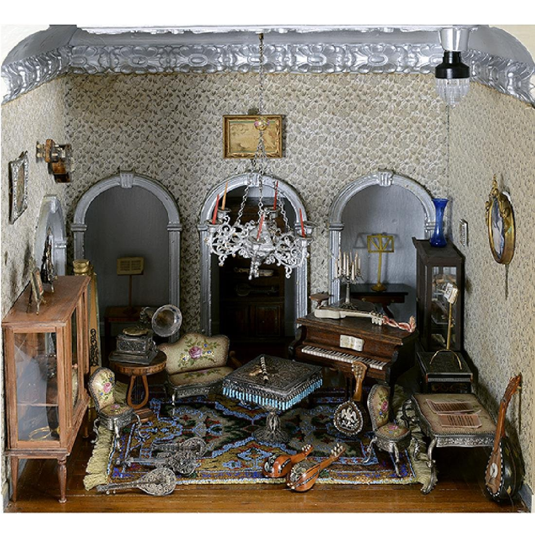 Contents of Music Room and Upstairs Hallway, Mother
