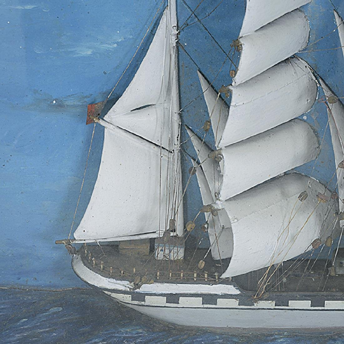 Diorama of the Ship Louise - 3