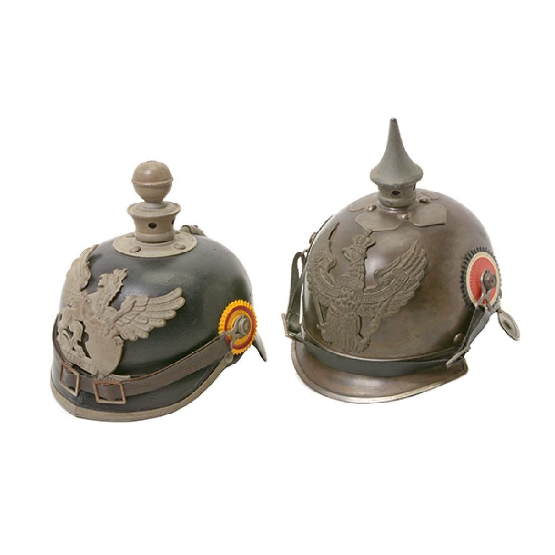 Bavarian Officer's Pickelhaube with Prussian Artillery